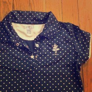 Weston Golf Club Boston polo shirt polka dot
